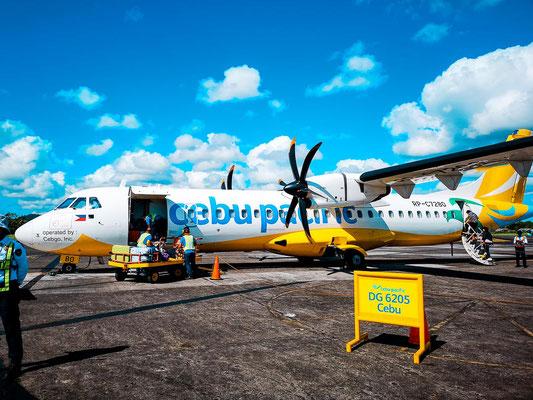 Anreise Legazpi Flughafen