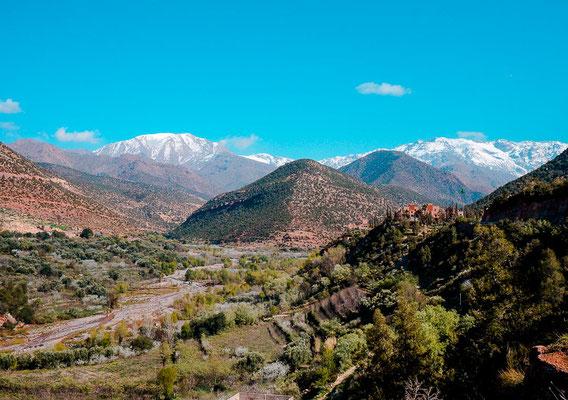 Fahrt von Marrakesch nach Imlil
