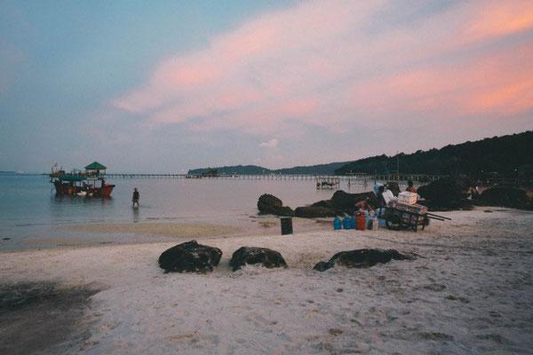 Otres Beach in Kambodscha