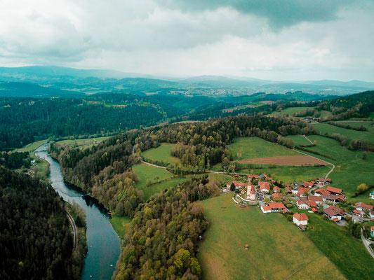 Bayerisch Kanada im Bayerischen Wald - Ausflugsziele in Bayern