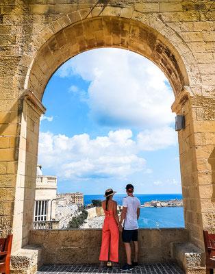 Upper Gardens Valletta
