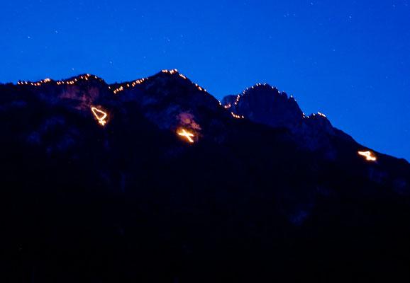 Bergfeuer Imst