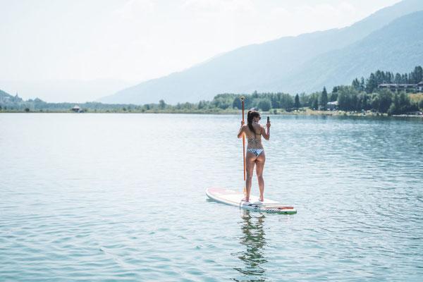 SUP beim Pressegger See Falkensteiner Hotel & Spa Carinzia