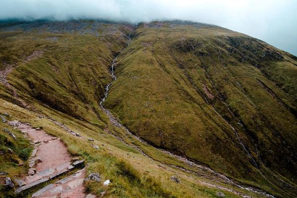 Wanderung auf Ben Nevis - Großbritaniens höchster Berg
