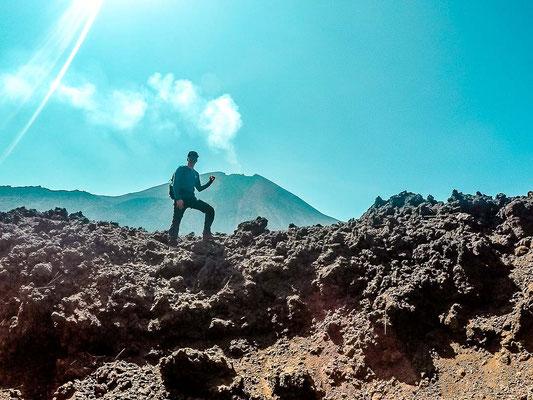 Wanderung zum Vulcan Pacaya