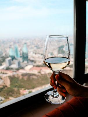 Beste Aussicht auf Flame Towers Baku