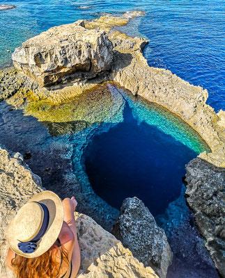 Blue Hole auf Gozo