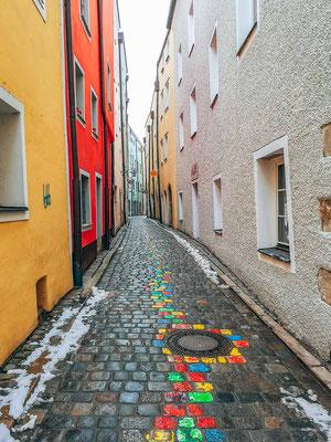 Enge Gassen in Passau