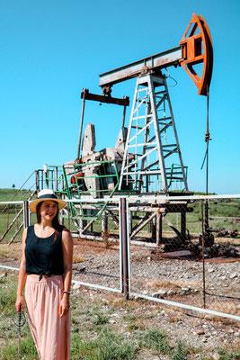 Ölforderanlagen Georgien