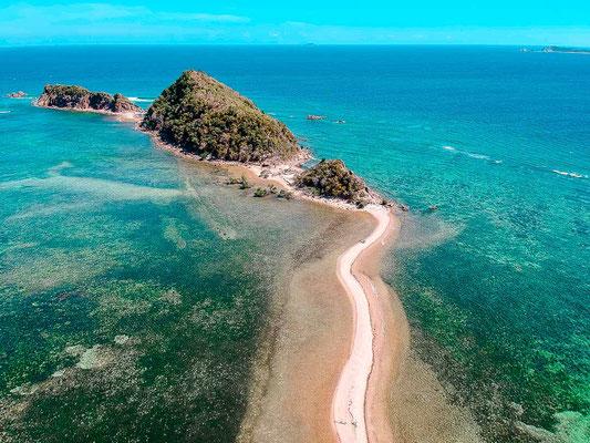Kanuausflug zu einsames Strand im Norden von Coron