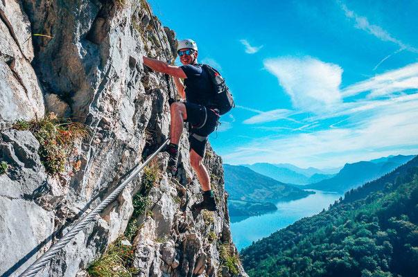 Klettergurte Für Klettersteig : ᐅ klettersteigset anlegen aber bitte richtig
