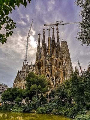Fotospot bei Placa de Gaudi