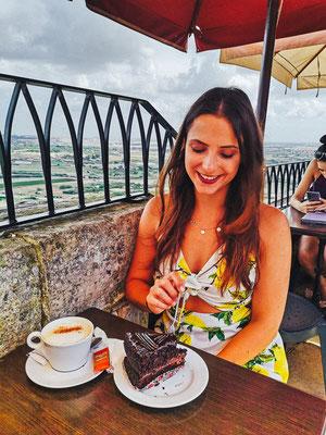 Cafe Fontanella in Mdina auf Malta