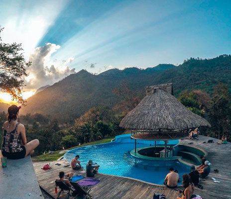 Sephir Lodge in Semuc Champey