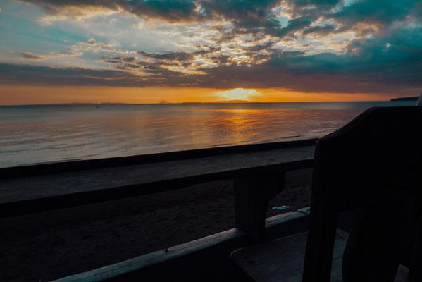 Sonnenuntergang in Donsol