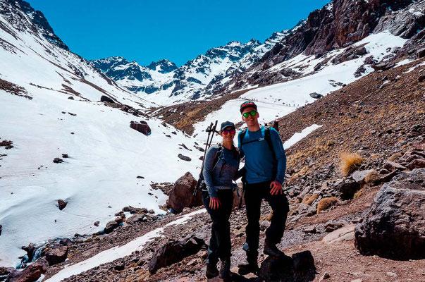 Zwei Tages Wanderung auf den Jebel Toubkal