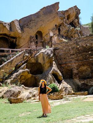 Hoehlenkloster David Garedscha Georgien Reisetipps