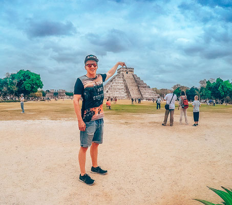Chichen Itza Mayapyramiden
