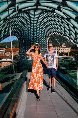 Reisetipps Tiflis moderne Gebäude