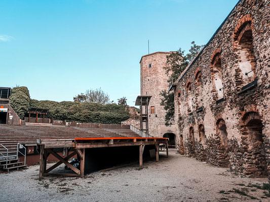 Burgbühne in der Burg im Kamptal