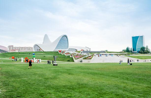 Baku Aserbaidschan Highlights Umgebung