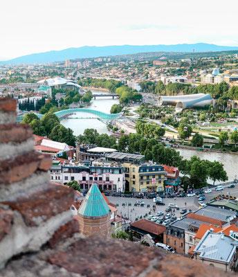 Reisetipps Tiflis Ausblick Festung