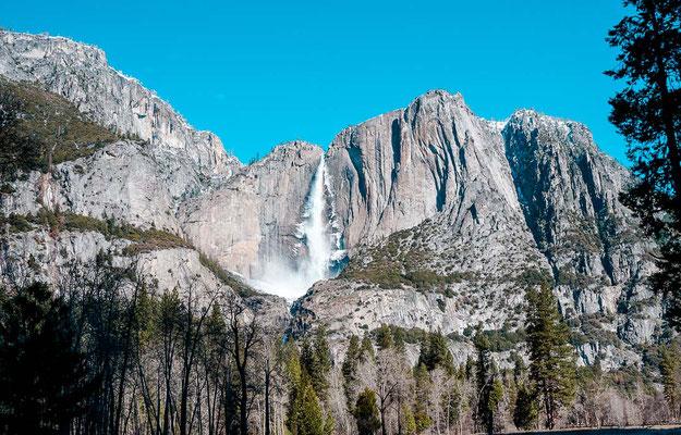 Wasserfall im Yosemite Nationalpark