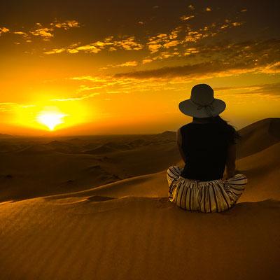 Wüstenübernachtung in Marokko