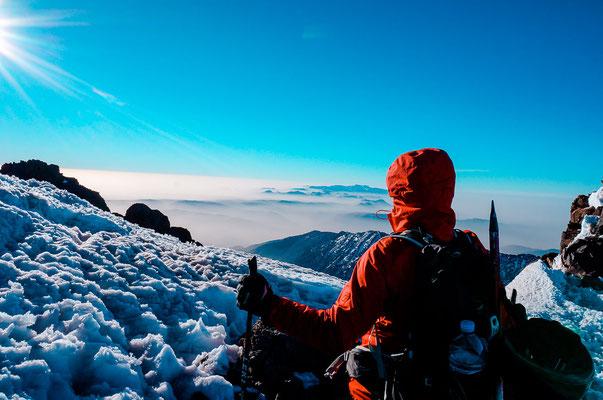 Aussicht vom Jebel Toubkal aus