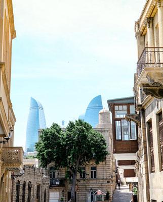 Baku Aserbaidschan Altstadt Reisetipps