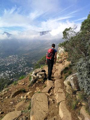 Wanderung auf den Lionshead