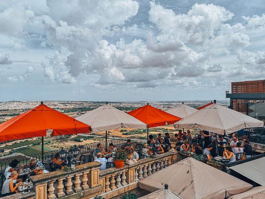 Mdina in Malta, Cafe Fontanella