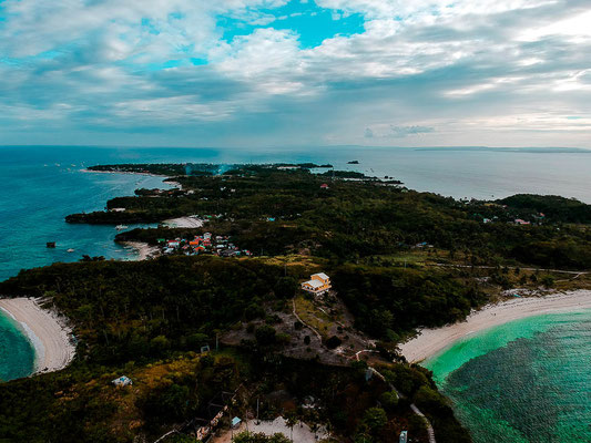 Malapascua Island von oben