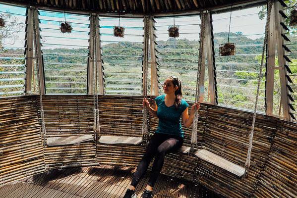 Fliegendes Haus im Masungi Georeserve