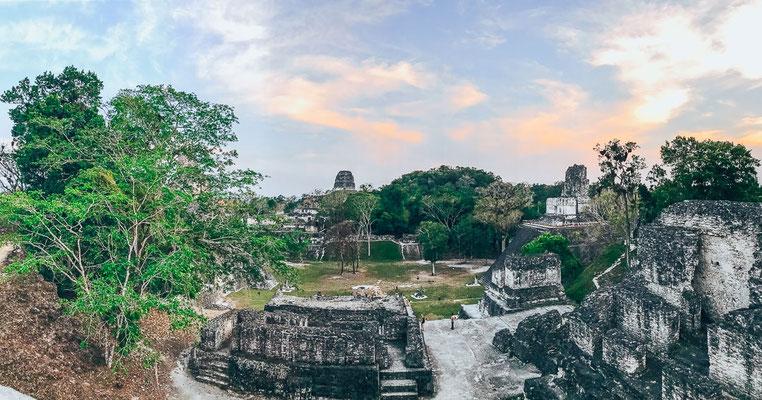 Ausblick auf Tikal