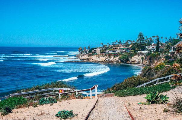 Beach Drive in San Diego