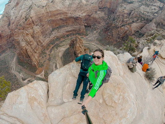 Angels Landing Wanderung Zion Nationalpark