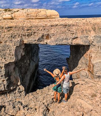 Neues Azurewindow auf Gozo