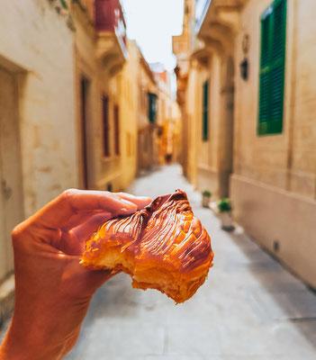 Pastizzis auf Malta