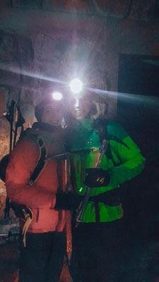 Start der Gipfelbesteigung um 6 Uhr morgens