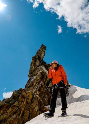 Gipfel beim Krimmler Kees Gletscher