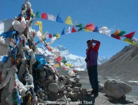 Gangel in Tibet auf dem Mount Everest Basecamp