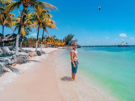 Strand auf Isla Mujeres