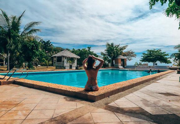 Pool im Thresher Cove Beach Resort