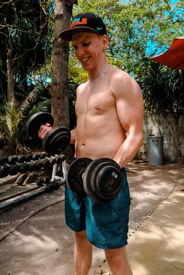 Fitness Studio im Thresher COve Deach Resort