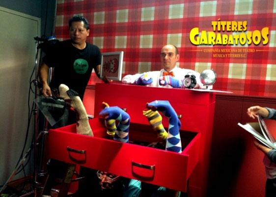 Titeres Garabatosos comercial Julio Regalado 2015 2