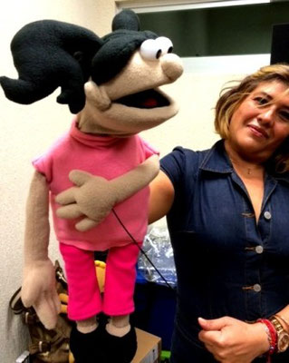 Sra. Morena Clara 1 Titeres Garabatosos