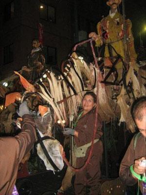Títeres Garabatosos en el Desfile Bicentenario 2010 20