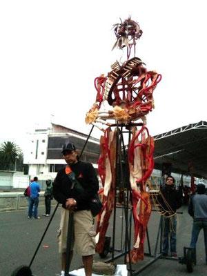 Títeres Garabatosos en el Desfile Bicentenario 2010 4