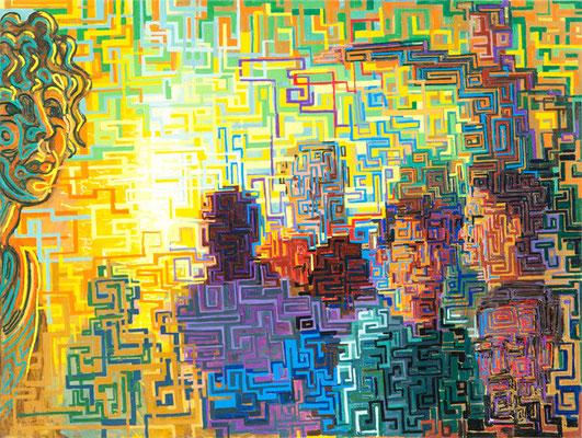"""""""Phenomenology"""", 2010, Oil on canvas"""